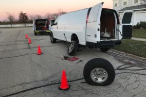 medium duty towing, roadside assistance, flat tire change, naperville,