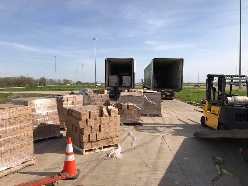 cargo load transfer, naperville, il